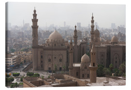 Canvas print  Mosque of Sultan Hassan in Cairo old town, Cairo, Egypt, North Africa, Africa - Martin Child