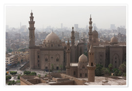 Premium poster Mosque of Sultan Hassan in Cairo old town, Cairo, Egypt, North Africa, Africa