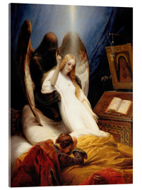 Acrylic print  Angel of Death - Emile Jean Horace Vernet