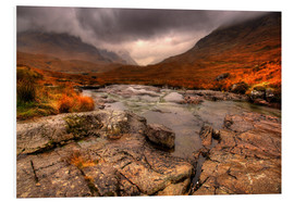 Foam board print  Rough Highlands, Glencoe - David Wogan