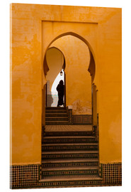 Acrylic print  Mausoleum of Moulay Ismail, Meknes, Morocco - Marco Cristofori