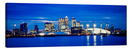 Canvas  Panoramic view of London skyline - Ian Egner