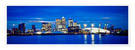 Ian Egner - Panoramic view of London skyline