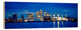 Wood  Panoramic view of London skyline - Ian Egner