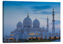 Canvas  Sheikh Zayed Grand Mosque - Jane Sweeney