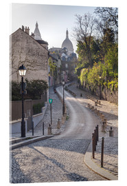 Acrylic print  Montmartre with the Sacré Coeur - Julian Elliott