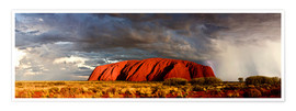 Premium poster  Uluru (Ayers Rock), Uluru-Kata Tjuta National Park, UNESCO World Heritage Site, Northern Territory, - Giles Bracher