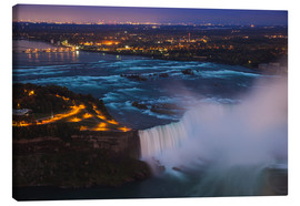 Canvas print  Horseshoe Falls, Niagara - Jane Sweeney