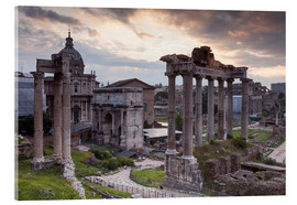 Acrylic glass  Roman Forum (Foro Romano) - Julian Elliott