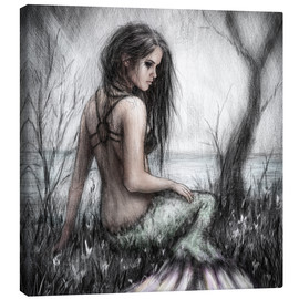 Canvas  Mermaid's Rest - Justin Gedak