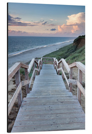 Aluminium print  Stairs down to the beach, Sylt - Markus Lange