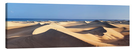 Canvas print  Panorama of the sand dunes of Maspalomas - Markus Lange