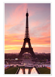 Poster  Eiffel Tower at sunrise - Markus Lange