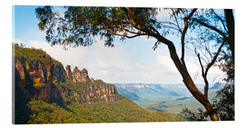 Acrylic glass  Panoramic photo of the Three Sisters - Matthew Williams-Ellis