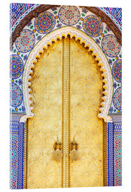 Acrylic glass  Royal Palace Door, Fez - Douglas Pearson