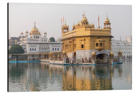 Aluminium print  The Harmandir Sahib - Alex Robinson