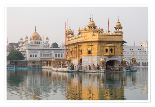 Premium poster The Harmandir Sahib