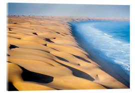 Acrylic print  Namib Desert on the Atlantic - Roberto Moiola