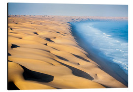 Aluminium print  Namib Desert on the Atlantic - Roberto Moiola