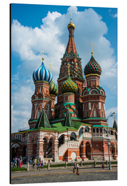 Aluminium print  St. Basil's Cathedral, Moscow - Michael Runkel