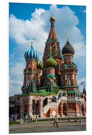 Foam board print  St. Basil's Cathedral, Moscow - Michael Runkel