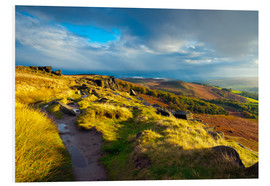 Foam board print  Stanage Edge, Derbyshire - Alan Copson