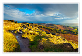 Alan Copson - Stanage Edge, Derbyshire