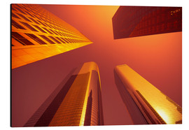 Aluminium print  Downtown, Los Angeles, California, United States of America, North America - Alan Copson