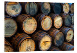 Acrylic glass  Casks (barrels), Port Askaig - Alan Copson