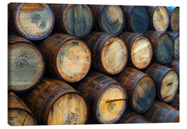 Canvas  Casks (barrels), Port Askaig - Alan Copson
