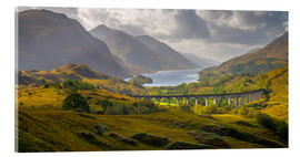 Acrylic glass  Glenfinnan Railway Viaduct - Alan Copson