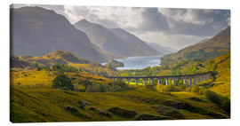 Canvas  Glenfinnan Railway Viaduct - Alan Copson