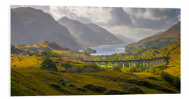 Foam board print  Glenfinnan Railway Viaduct - Alan Copson