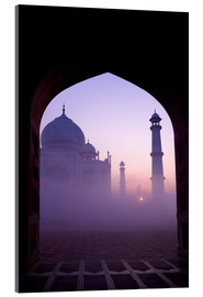 Acrylic print  Taj Mahal at sunrise - Peter Barritt