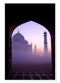 Premium poster  Taj Mahal at sunrise - Peter Barritt
