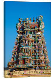 Canvas print  Sri Meenakshi temple - Tuul