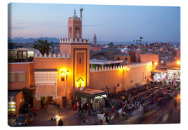 Canvas  Jemaa El Fna, Marrakesh - Frank Fell