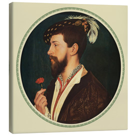 Canvas print  Simon George of Cornwall - Hans Holbein d.J.