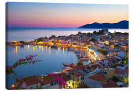 Canvas print  Dusk in Pythagorion, Greece - Stuart Black