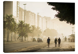 Canvas  Copacabana at dawn