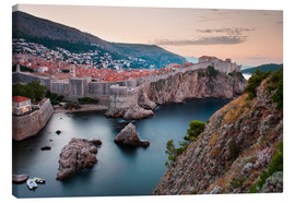 Canvas print  Dubrovnik at sunrise - Matthew Williams-Ellis