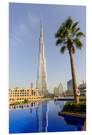 Forex  Pool and Burj Khalifa - Amanda Hall