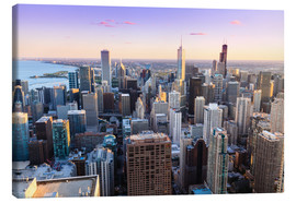 Canvas print  Chicago skyline - Amanda Hall