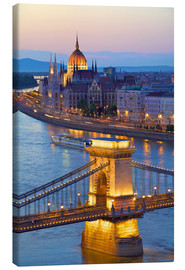 Canvas print  Budapest with River Danube - Neil Farrin