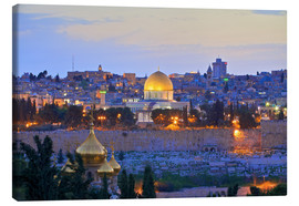 Canvas print  Jerusalem with Dome of the Rock - Neil Farrin