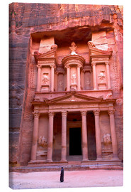 Canvas print  The Treasury, Petra - Neil Farrin