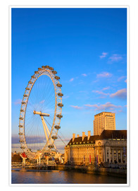 Premium poster The London Eye