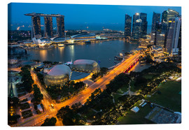Canvas  Marina Bay Hotel - Gabrielle & Michel Therin-Weise