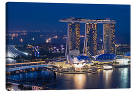 Canvas  Marina Bay Sands Hotel - Gabrielle & Michel Therin-Weise