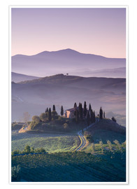 Poster Tuscan Farmhouse